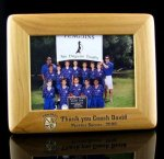 Alder Picture Frame 5x7 Baseball Coach Gifts
