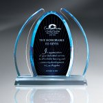 Blue Dynasty Award - Exclusive Colored Acrylic Awards