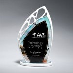 Butterfly Wing Colored Acrylic Awards