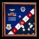 Flag Display Case FB236 Square Display Cases