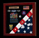 Flag Display Case FB250 Square Display Cases