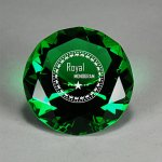 Full-Cut Glass Gemstone Employee Awards