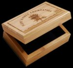 R2705 - Eco Friendly Keepsake Box - Bamboo Executive Gift Awards