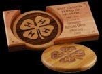 R2706 - Eco Friendly Coaster Set Executive Gift Awards