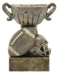 Sport Cup Antique Gold -Football Football Trophy Awards