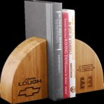 R2702 - Bookends Amber Bamboo Gift Awards