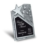 Star Cast Self-Standing Plaque Metal Plaques