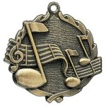 Wreath Medal -Music Music Trophy Awards