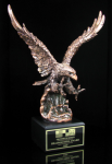 Bronze Eagle Landing Patriotic Awards