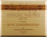 R2707 - Eco Friendly Amber Bamboo Plaque Recognition Plaques