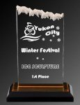 R2903 - Frosted Impress Acrylic Traditional Acrylic Awards
