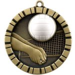3-D IM Medals -Volleyball Volleyball Trophy Awards