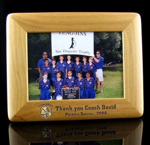Alder Picture Frame 5x7 Soccer Coach Gifts